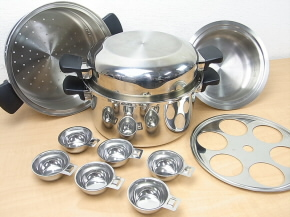 Amway/アムウェイ  Queen Cookware(クィーン クックウェア) 24ピースセット