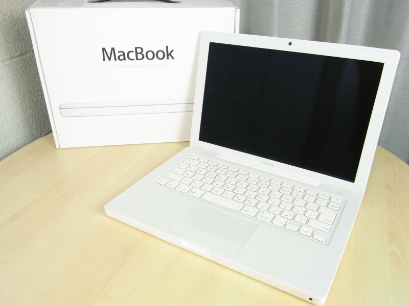 "中古 Apple Macbook MC240J/A 13.3""/2.13GHz/4GB/160"