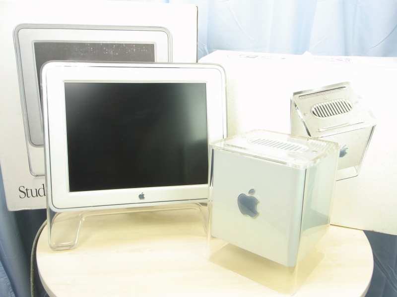 PowerMac G4 CUBE M7642J/A + Studio Display M7928J/A
